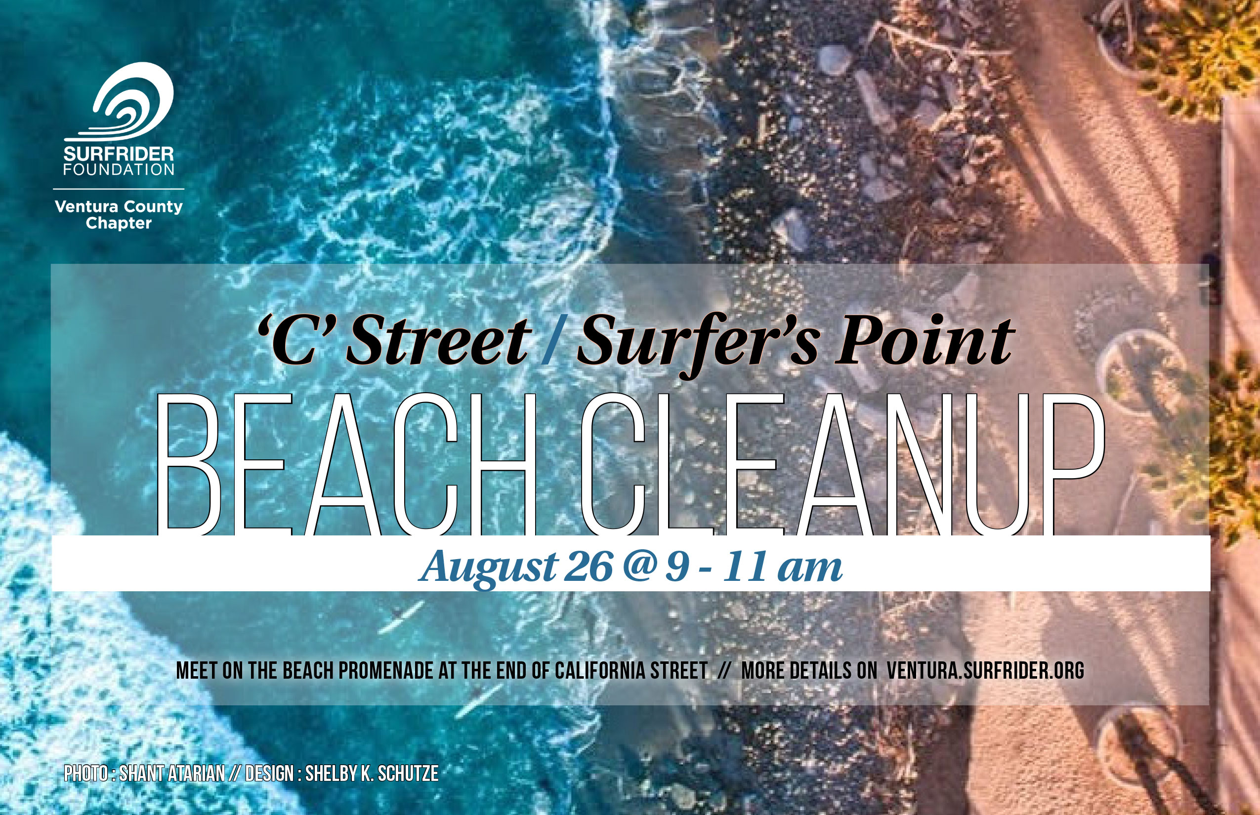 August 26th Beach Cleanup @ Surfers' Point
