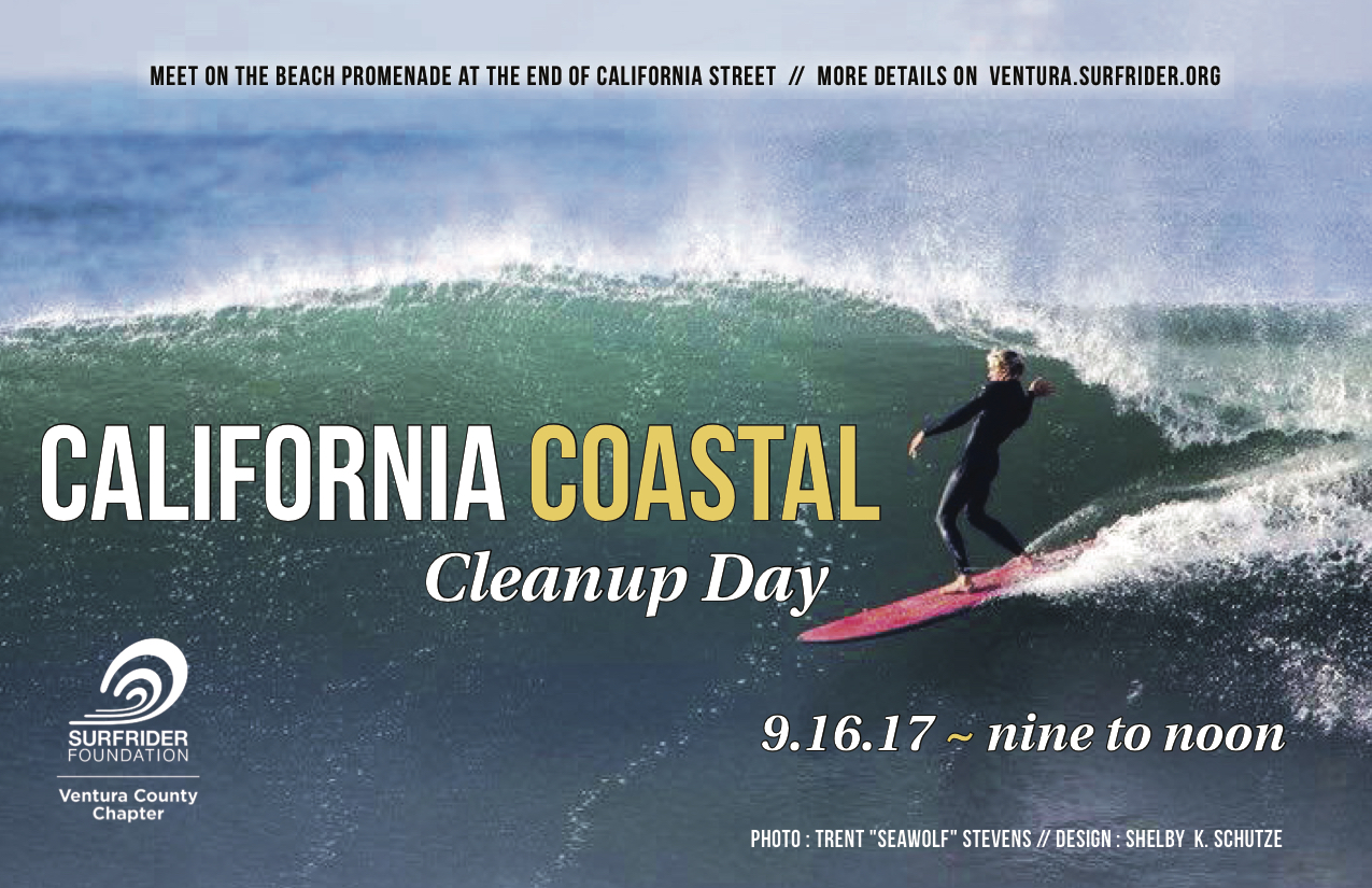 Coastal Cleanup Day is Saturday September 16th!