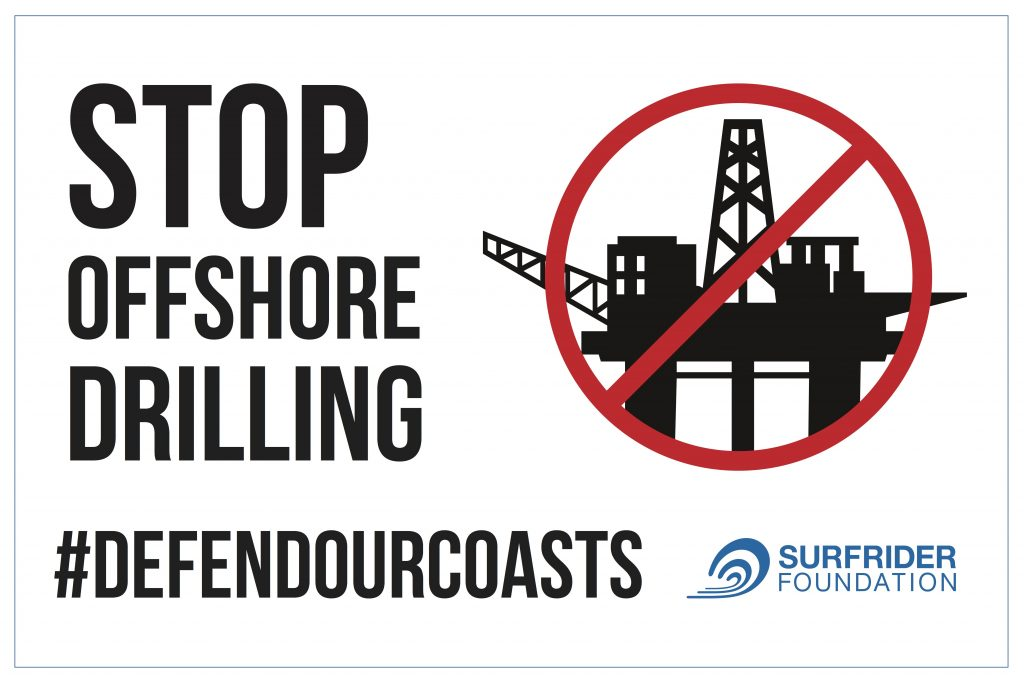 Stop offshore drilling! No new oil rigs!