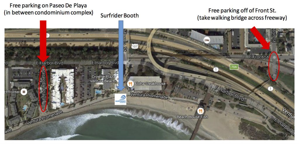 Surfrider_BeachCleanup_Parking